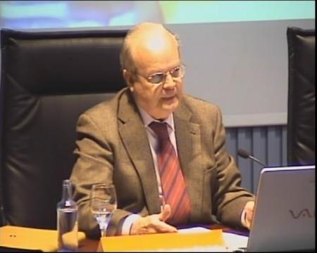 José Antonio Corriente Córdoba, catedrático de Dereito Internacional Público da Universidade Pública de Navarra